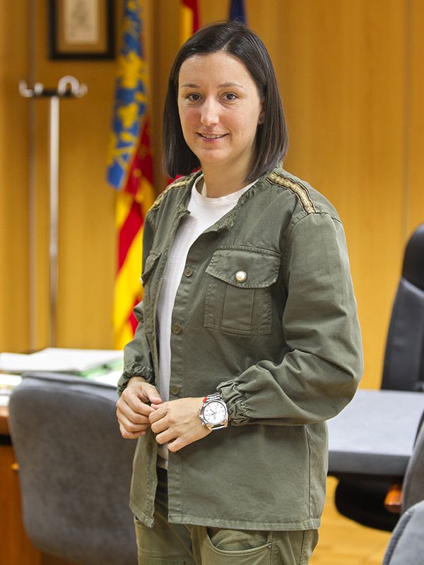 Marta Trenzano Rubio. Alcaldessa d'Algemesí (des de 2015). Nº84 - juny 2018. MOISÉS CASTELL/Prensa2