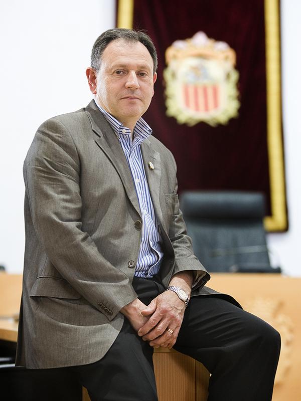 Vicent Ramón García Mont. Alcalde d'Algemesí (2007-2015). Nº8 - juny 2012. MOISÉS CASTELL/Prensa2