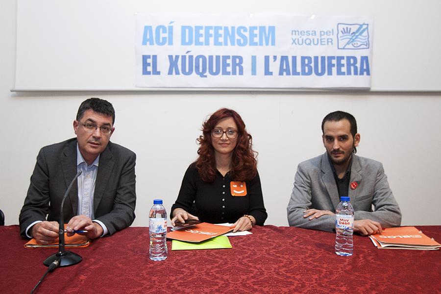 Enric Morera. Síndic de Compromís a les Corts Valencianes, en campanya per a les eleccions europees. Nº29 - juny 2014. MOISÉS CASTELL/Prensa2