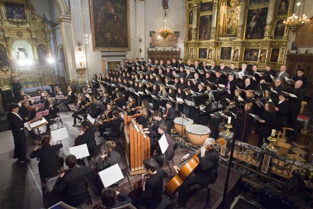 El Messíes de Haendel a la Basílica. Nº4 - febrer 2012. MOISÉS CASTELL/Prensa2