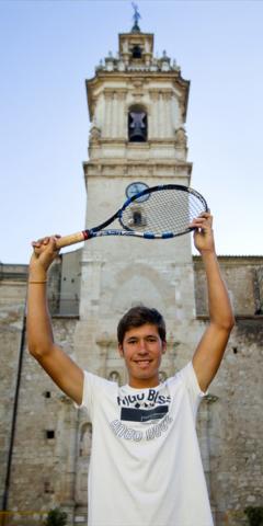 Carlos López. Jugador de l'ATP. Nº63 - juny 2017. MOISÉS CASTELL/Prensa2