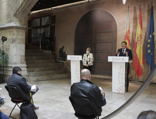Ximo Puig anuncia l'obertura parcial de terrasses a partir del dilluns 1 de març