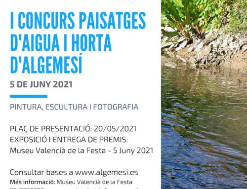 Concurs de Paisatges d'Aigua i Horta d'Algemesí
