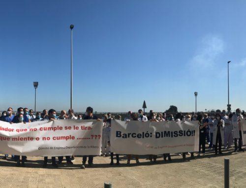 Hospital de La Ribera: Después de 3 años, BASTA YA