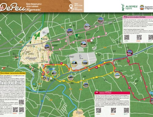 La regidoria crea un mapa amb rutes esportives segures i saludables