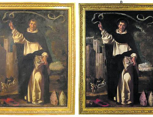 Salut Díez restaura una obra de Jerónimo Jacinto de Espinosa