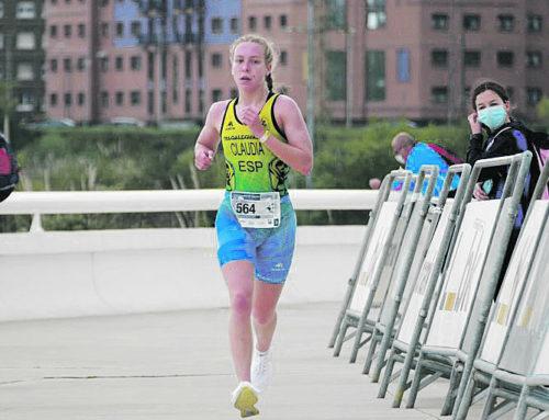 Claudia Bresó subcampiona d'Espanya de duatló per equips