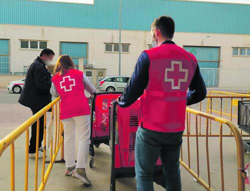 Cruz Roja Algemesí distribuirá 14 toneladas de alimentos