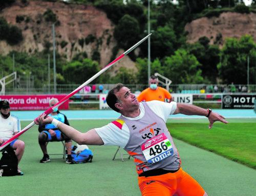 Jaime Flores, sext al Campionat d'Espanya de pentatló de llançaments