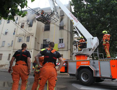 Nova mort a causa de l'incendi d'ahir