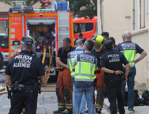 Detingut l'inquilí on es va originar l'incendi de El Raval