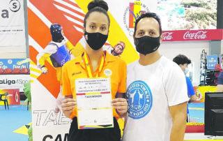 Tae Kwon Do Club Esportiu Al Moo Kwan Algemesí Vanessa Shestopalka