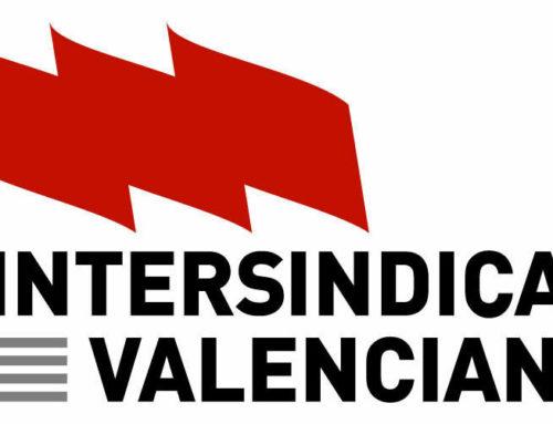 Nota de premsa d'Intersindical Valenciana