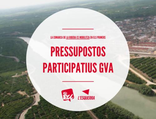 EU celebra la mobilització en els pressupostos de la Generalitat